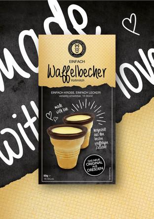 Packaging Design // DeZiesche // Waffelbecher