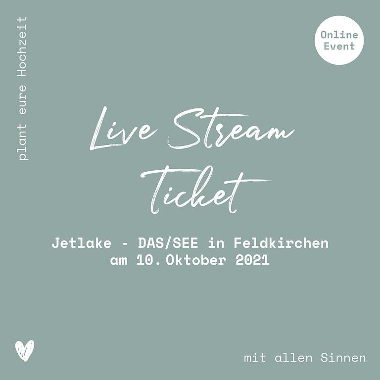 Jetlake - DAS/SEE // Live-Stream Ticket // 10.10.2021