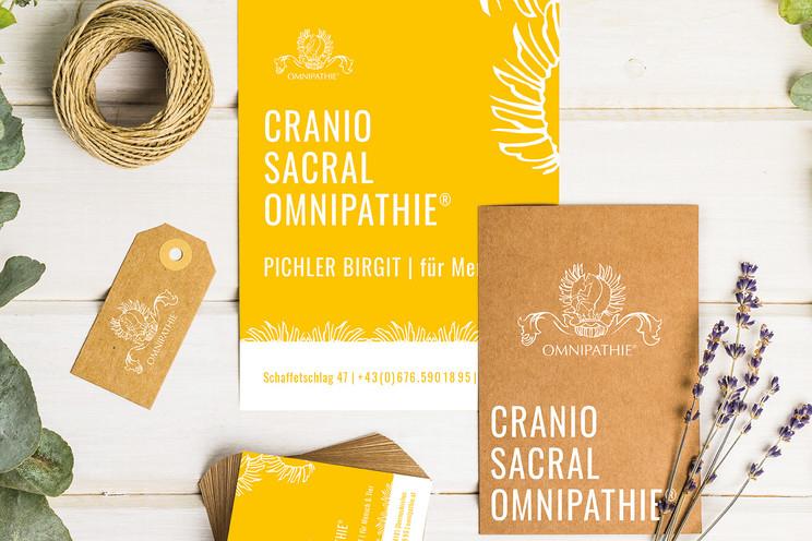 Corporate Design // Cranio Sacral Omnipathie