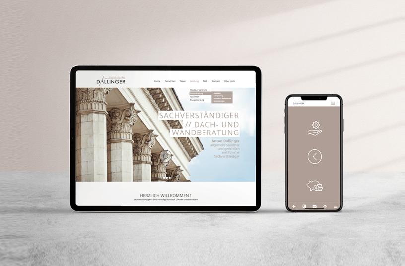 Webdesign // Dallinger