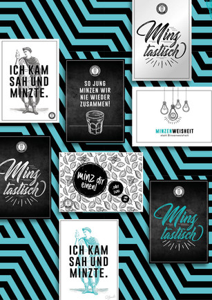 Werbemittel // Postkarten Give Aways // DeZiesche