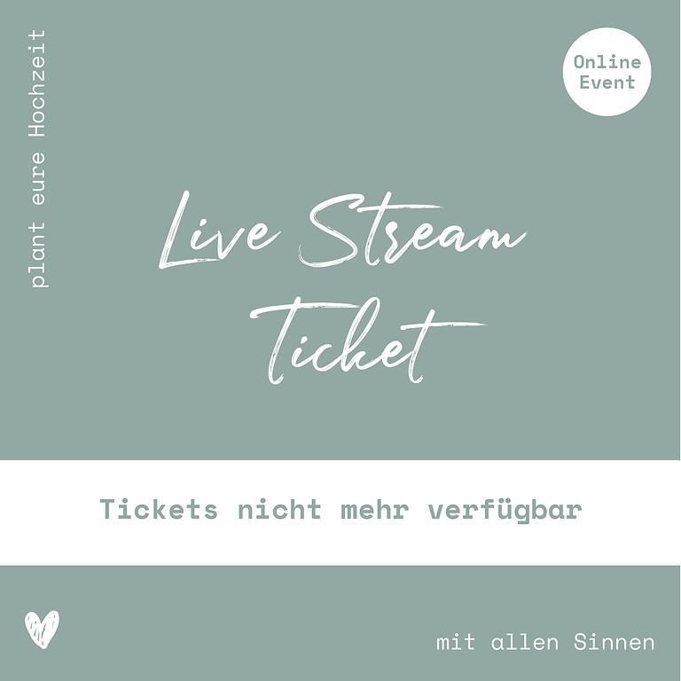 Landschloss Parz // Live-Stream Ticket // 17.10.2021