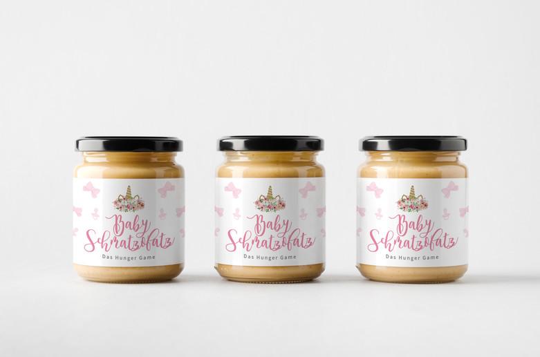 Packaging Design // Etiketten // Babyshower Schmatzofatz