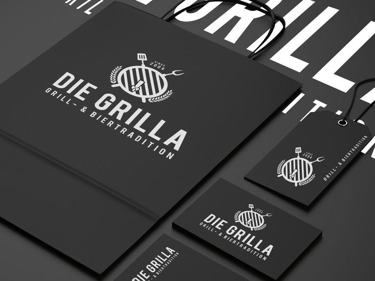 Corporate Design // DIE GRILLA