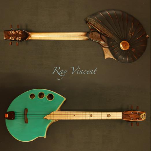 Electric shellback baritone ukulele