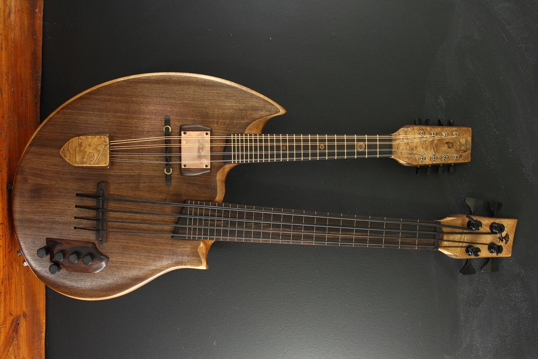 double neck mandolin ubass