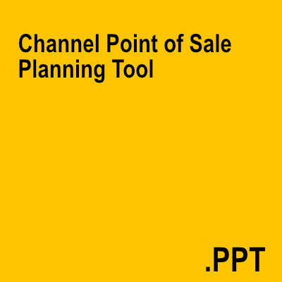 Channel Point of Sale Planning Tool