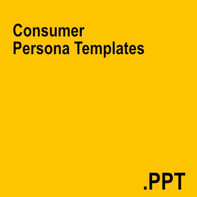 Consumer Persona Templates