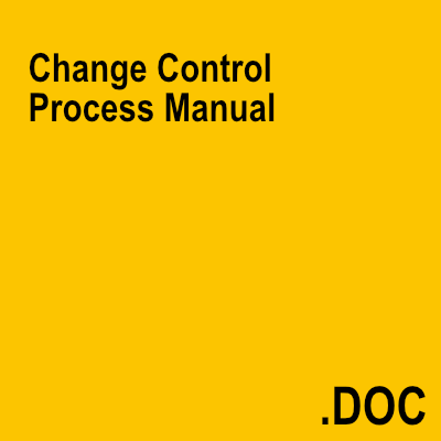 Change Control Process Manual