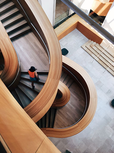 Escalier torsadé
