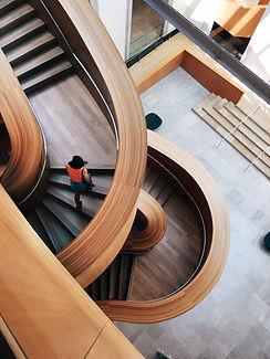 retorcida escalera
