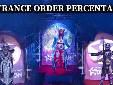 Stardom Entrance Order Win Percentages
