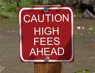 What type of fees do banks charge?