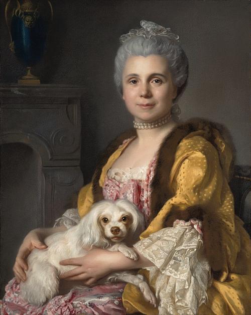Portrait of Madame Fréret d'HéricourtPortrait of Mme Freret Dericour