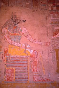 Anubis in Temple of Hatshepsut