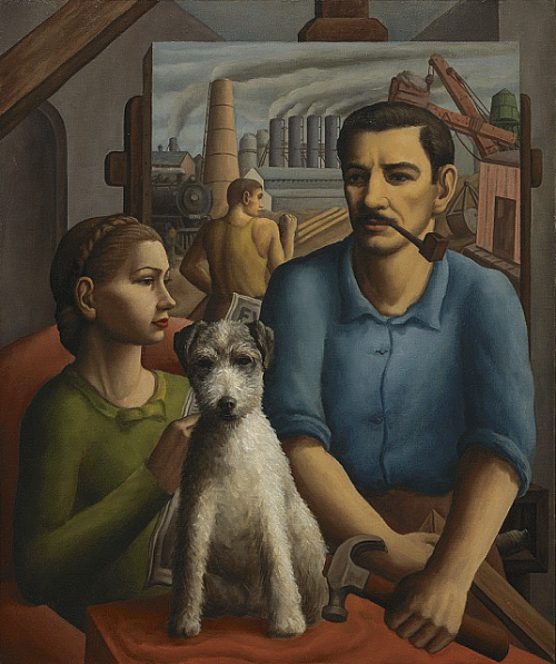 Paul, Marcella and Van Gogh (No. 2)