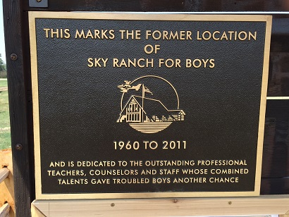 6 Sky Ranch Plaque
