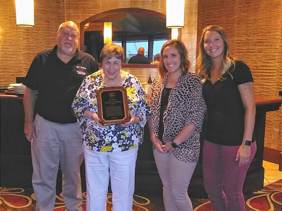 Sky Ranch Behavioral Services honored Peg Donovan as the longest serving member on Sky Ranch Foundation