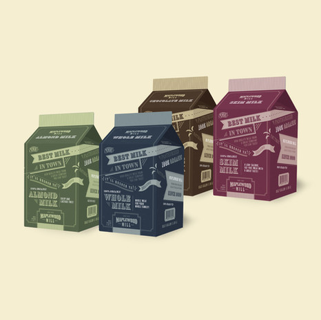 Milk Carton Designs
