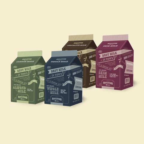 Milk Carton Designs