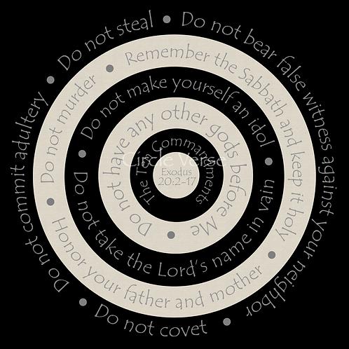 Commandments (black)