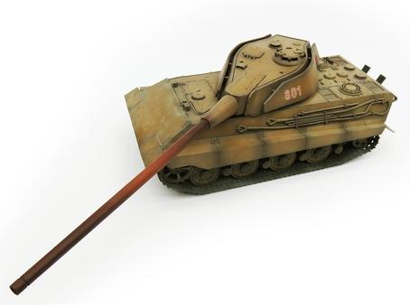 """1/35 ティーガーⅢ E型 """"Tigerzähne""""(仮称)"""