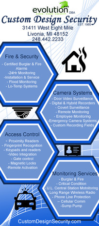 Custom Design Security Ad