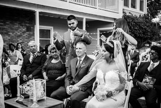 Backyard Wedding; Castlerock, CO