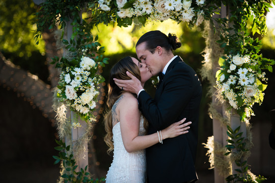 Backyard Wedding; Gilbert, AZ