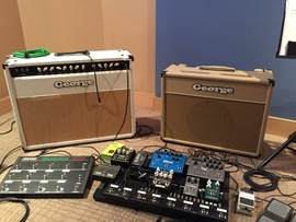 JORGES Y PEDALES / GEORGE´S AMPS & PEDALS