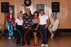 50's Hula Hoop Winners & Judges