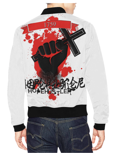 Fight For Hope Hustler Bomber Jacket