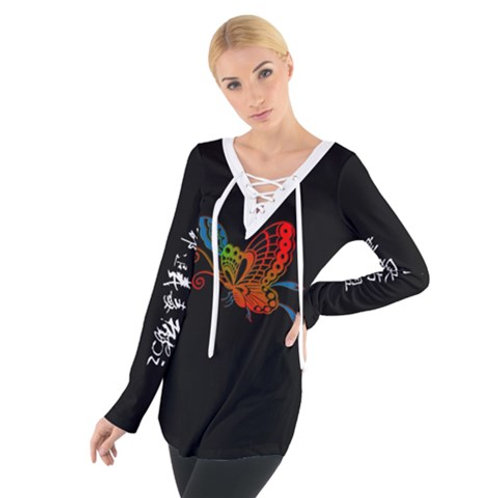 Butterfly Tie Up Tee