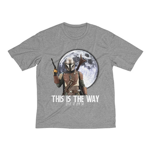 This Is The Way Men's Heather Dri-Fit Tee