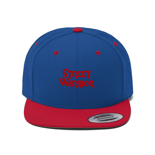 Mr. Phoenix Street Warrior Unisex Flat Bill Hat