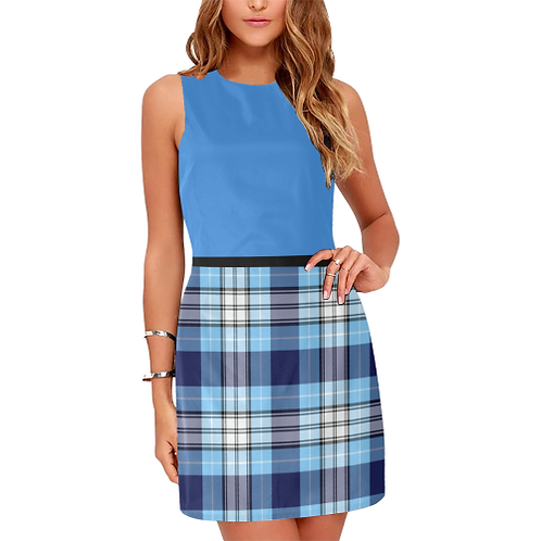 Blue Eos Women's Sleeveless Dress