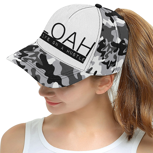 L.O.A.H All Over Print Snapback Hat