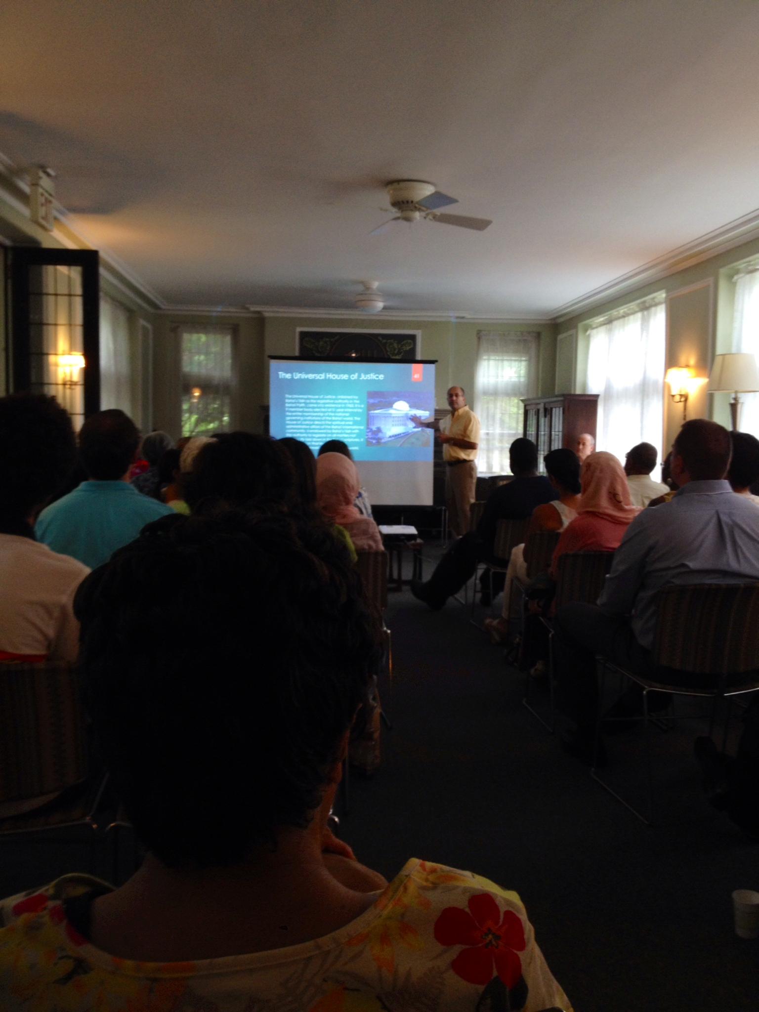 Baha'i Presentation.JPG