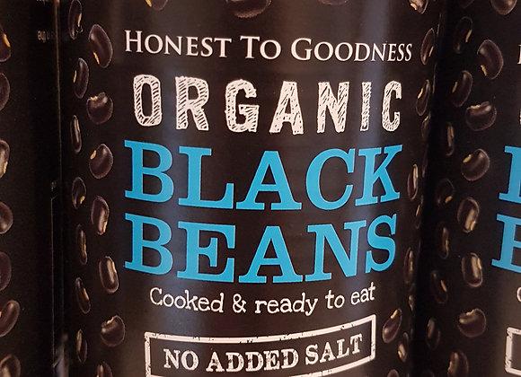 Organic Black Beans, tinned