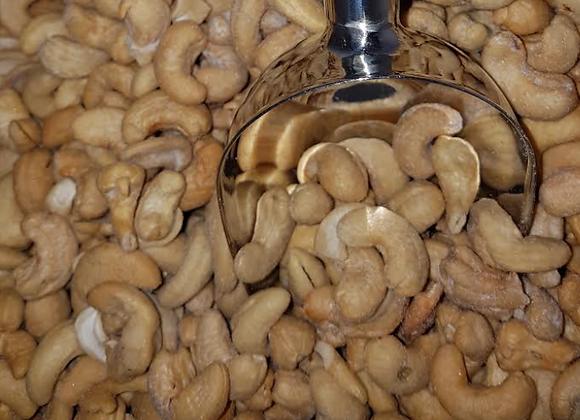 Cashews - roasted/salted