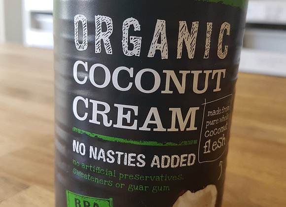 Honest to Goodness Organic Coconut Cream