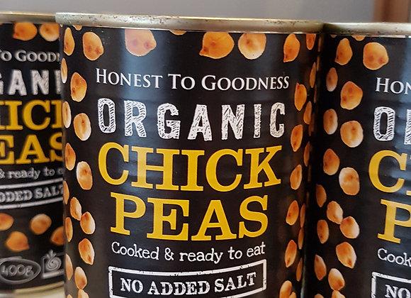 Organic Chick Peas, tinned
