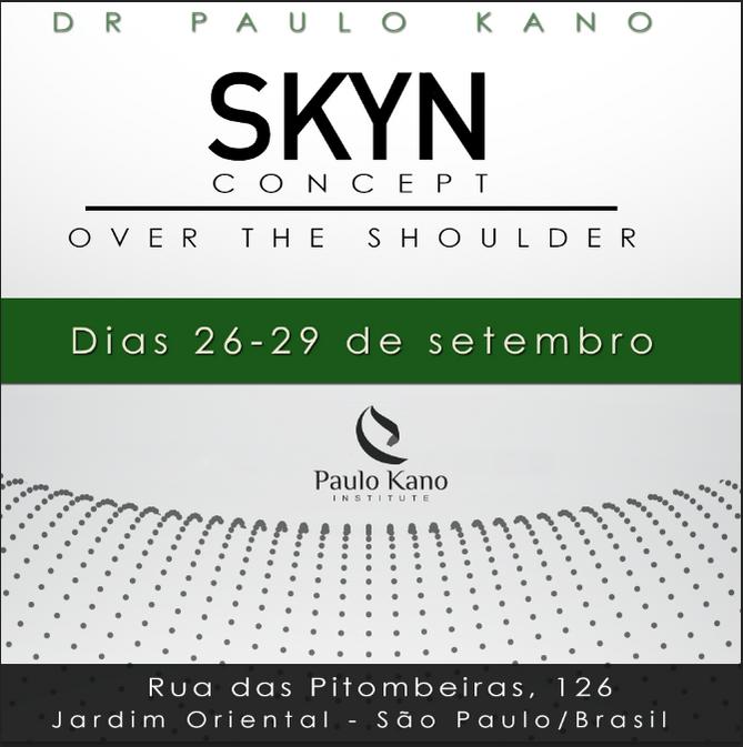 SKYN Concept - Dias 26, 27, 28 e 29 de Setembro de 2016