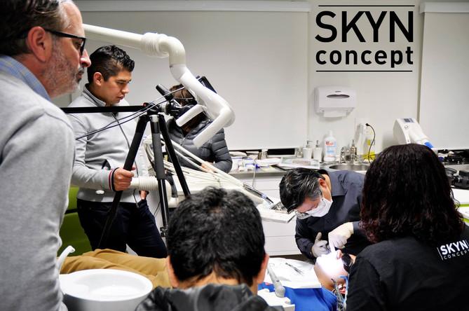 SKYN Concept - Over the shoulder