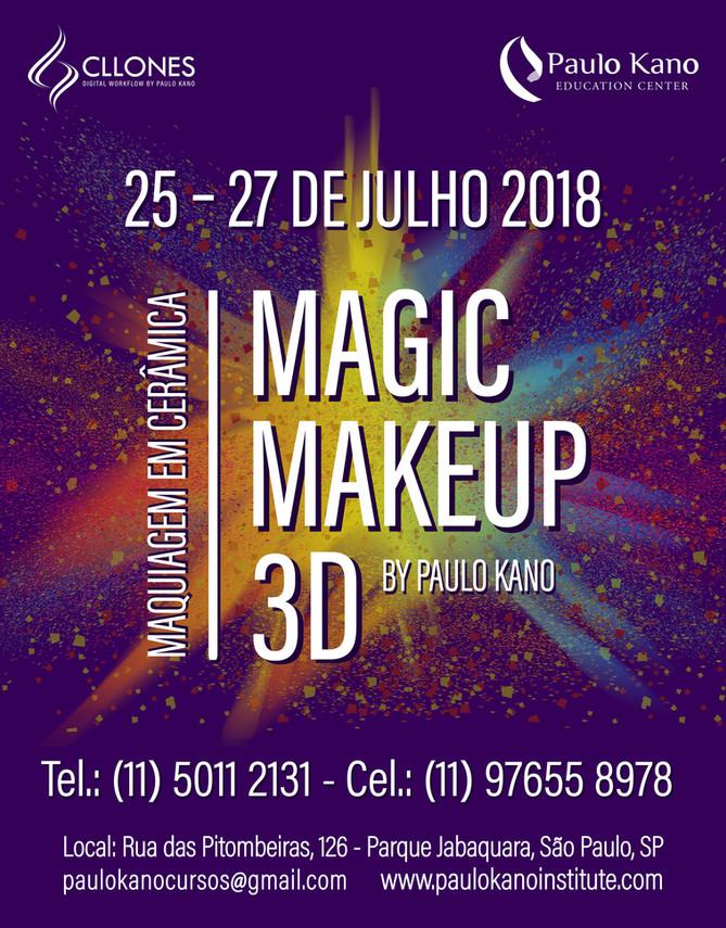 Curso Magic Make Up 3D