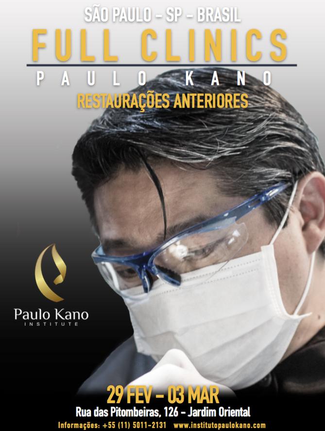 Full clinics anterior restoration - São Paulo City (Brazil)