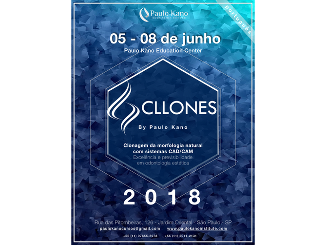 Curso de Facetas Laminadas - Odontologia Estética 3D - Método Cllones