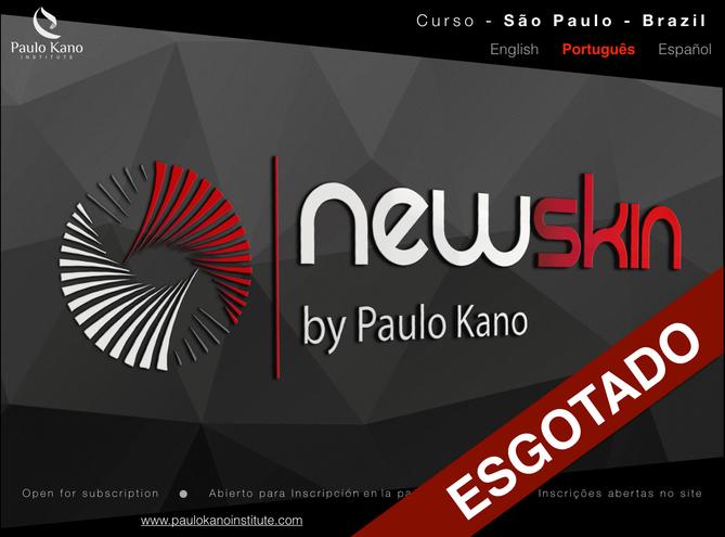 Curso New SKIN (português) esgotadas!