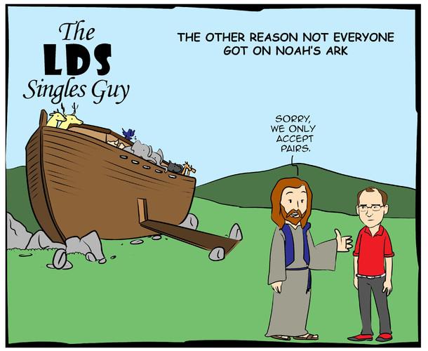 The LDS Singles Guy Comics