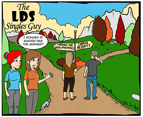 LDS Singles, LDS Singles Guy, Kevin Baker Attorney, The Greatest Worth Book, The Greatest Worth LDS Book, Books for LDS Singles, Kevin Baker Minnesota, Kevin Baker LDS Speaker, LDS Comics, Under New Management Comics, Religious Comics